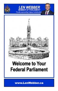 Welcome To Your Federal Parliament